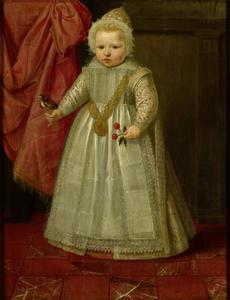 Portret van een kind, mogelijk Lodewijk van Nassau (?-1665)