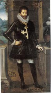 Portret van hertog Carlo Emanuele I di Savoia  (1562-1630)