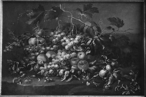 Stilleven van vruchten