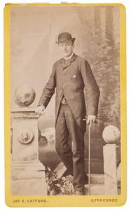Portret van Jan Willem Herman Meyert van Idsinga (1854-1921)