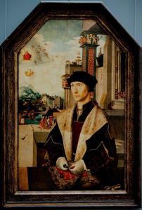 Portret van Abel van den Coulster (1477-1548)