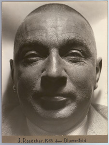 Portret van John Raedecker