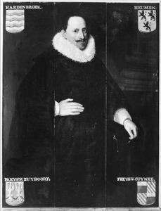 Portret van Gijsbert van Hardenbroek (?-1627)