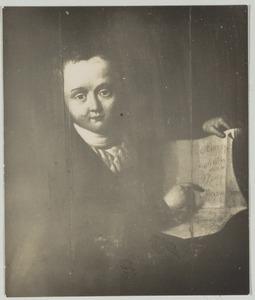 Portret van Jan Jacob van der Breggen Paauw (1792-1818)