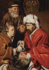 Pontius Pilatus wast zijn handen in onschuld