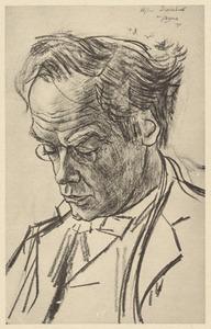 Portret van Alphons Diepenbrock (1862-1921)