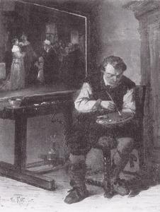 Portret van Herman Frederik Carel ten Kate (1822-1891)
