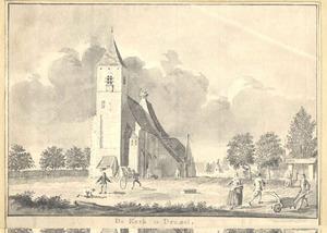 Gezicht op de kerk van Dreumel