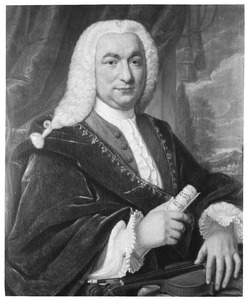 Portret van Martinus van Berckel (1700- )
