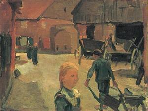 Farm buildings in Winterswijk