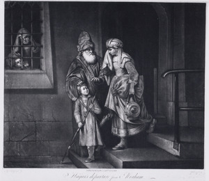 Hagar's departure from Abraham