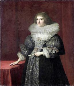 Portret van Ursula zu Solms (1594-1657)