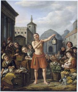 Diogenes zoekt een eerlijk man