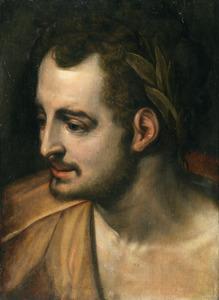 Portret van de Romeinse keizer Nero
