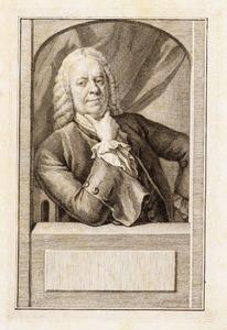 Portret van Philip van Dijk (1683-1753)