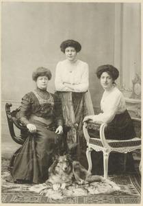 Portret van de dames Von Brandis en Boode