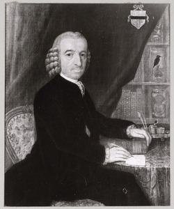 Portret van Jan Loncq (1722-1785)