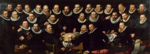 Anatomische les van Dr. Sebastiaen Egbertsz