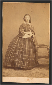 Portret van Catharina Magdalena van Brakel (1844- )
