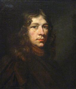 Portret van een jongeman, mogelijk zelfportret Daniel Schultz (1615-1683)
