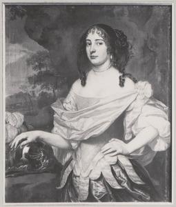 Portret van Charlotte van Hessen -Kassel (1627-1686)