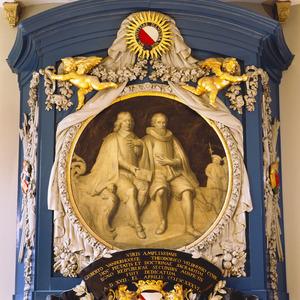 Burgemeesters G.van der Hoolck en J. Velthuysen