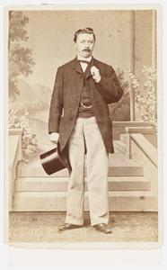 Portret van mogelijk W. van der Most