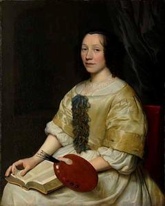 Portret van Maria van Oosterwijck (1630-1693)