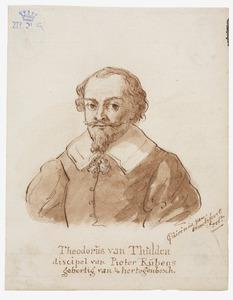 Portret van Theodoor van Thulden (1606-1669)