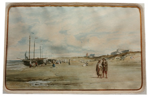 Het strand te Zandvoort