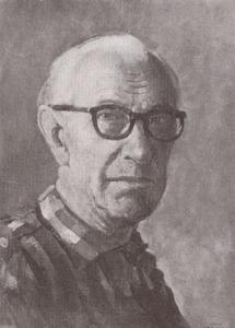 Portret van Hendrik Pieter Groen (1886-1964)