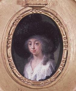 Portret van een vrouw, mogelijk Constantia Catharina Henrietta van Baerle (1772-1851)