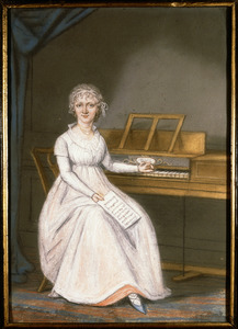 Portret van Johanna Paulina de Virieu (1764-1838)