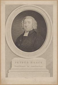 Portret van Petrus Haack (1747-1824)