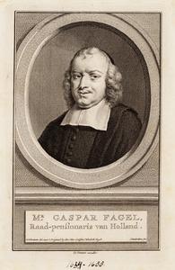 Portret van Gaspar Fagel ( -1688)