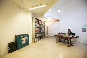 Barbara Visser in haar studio
