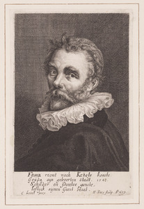 Portret van Cornelis Ketel (1548-1616)