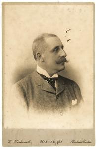 Portret van Emil Pieter Hendrik Marie Bijleveld (1842-1898)