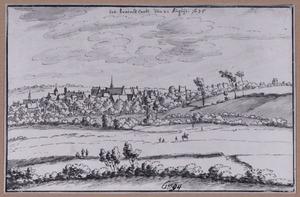 Gezicht op 's-Gravenbrakel (Braine-le-Comte)