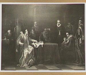 Margaretha van Parma en Prins Willem van Oranje