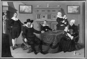 Familieportret van een onbekende Enkhuizer familie