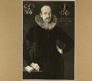 Portret van Syds van Sytzama (1556-1635)