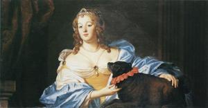 Portret van Amalia Margaretha van Brederode (1626/1627-1663)/1665