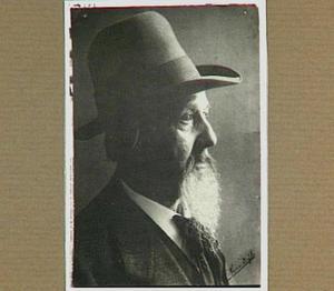 Portret van de kunstenaar Pieter Johannes Mak