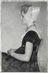 Portret van Maatje Geldof (1920- )