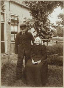 Portret van van Daalen en zijn vrouw