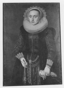 Portret van Hillitjen Jansdr van Loosen (1598-1657)