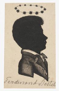 Portret van Ferdinand August Carl von Pestel (1805-1820)