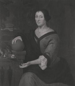 Portret van Geertruij van der Hey (1638-1720)