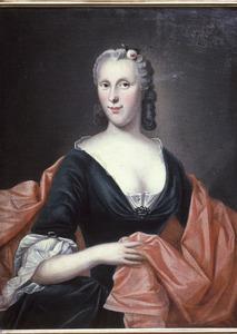 Portret van Anna Weerts (1702-1767)